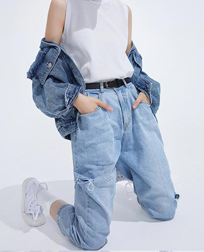 Korean Ripped Jeans
