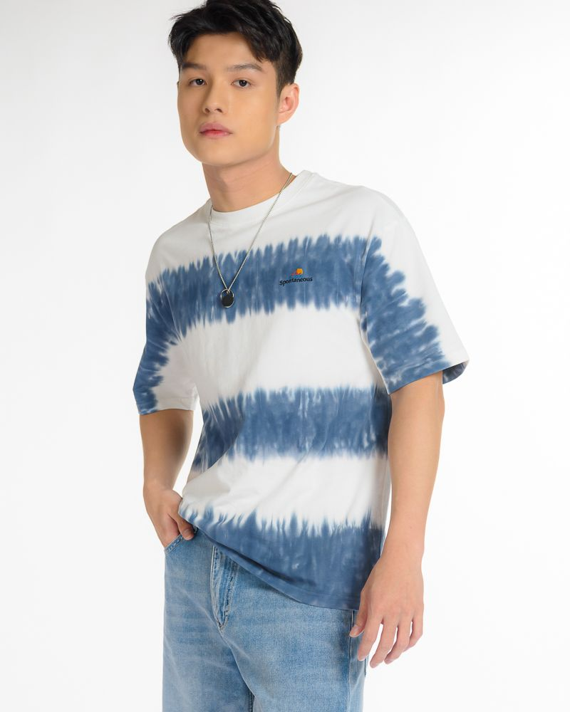 Tie-Dye Panelled T-Shirt